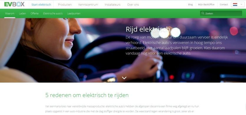 Website EV Box tekst van copywriter Bas Holzhaus 840